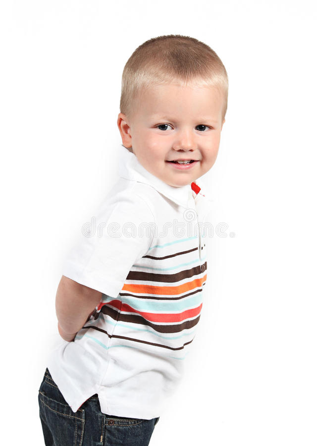 Download Little Boy Posing With Smile Stock Image - Image: 22866951