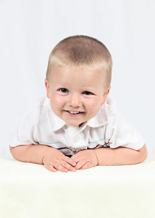 Download Little Boy Posing With Smile Stock Image - Image: 22867685