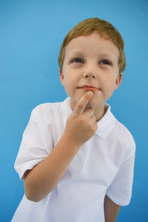 Little Boy premuroso fotografia stock libera da diritti