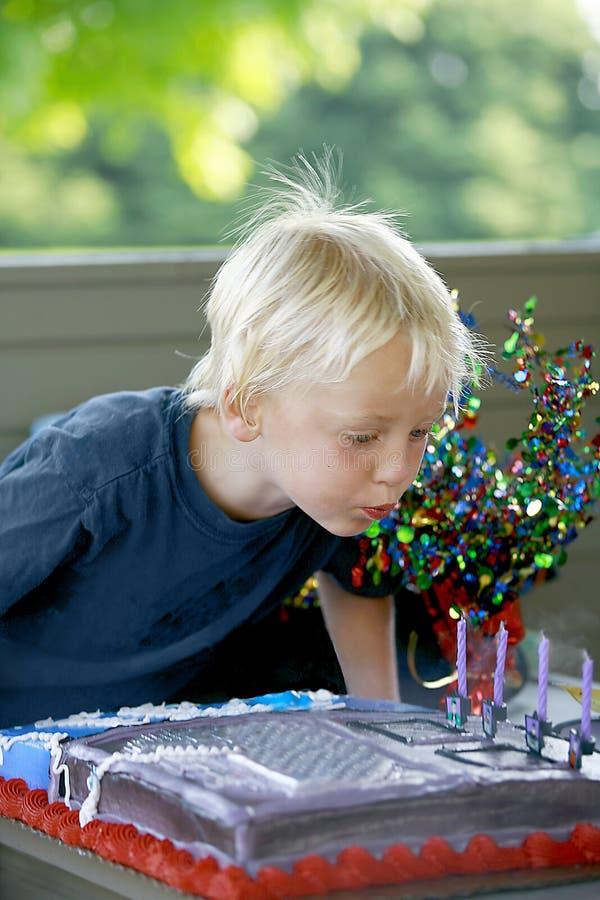Little Boy's Birthday royalty free stock image