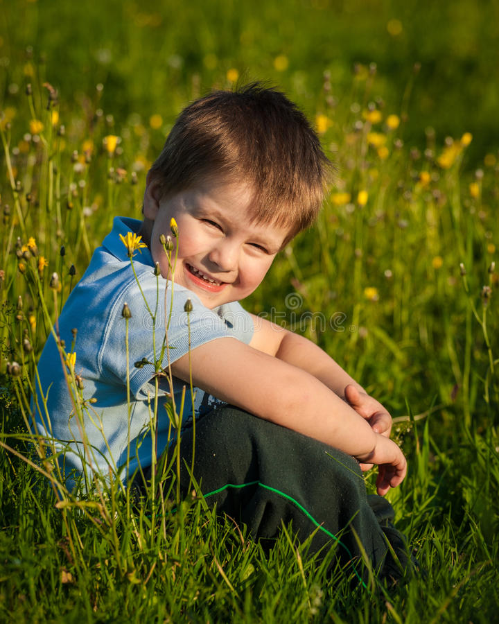 Download Little boy sitting stock photo. Image of baby, person - 34898170