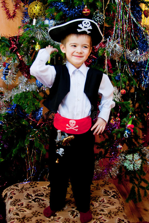 Download Little Boy In The Suit Of Pirate Stock Photo - Image: 18691102