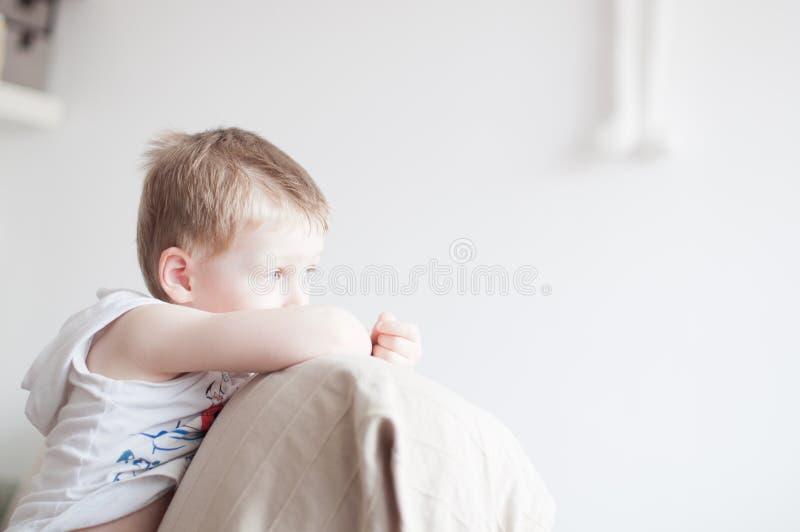 Little Boy triste imagens de stock royalty free