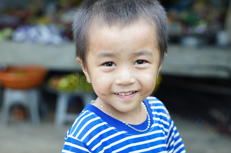 Little boy, Vietnam stock images