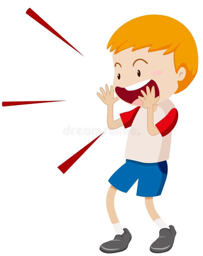little boy yelling at something stock vector illustration of rh dreamstime com yelling pictures clip art yelling pictures clip art