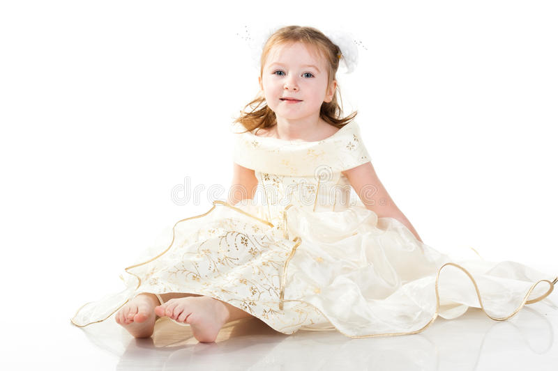 Little bride royalty free stock photos