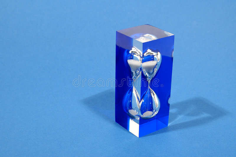 Download Little cast hourglass stock image. Image of timer, fast - 48011