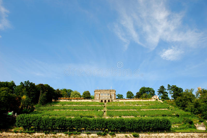 Download Little Castle At River Elbe Royalty Free Stock Photos - Image: 10846438