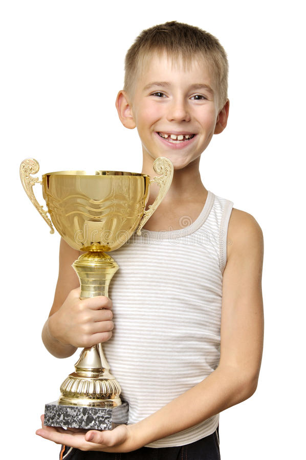 Little Champion Royalty Free Stock Image