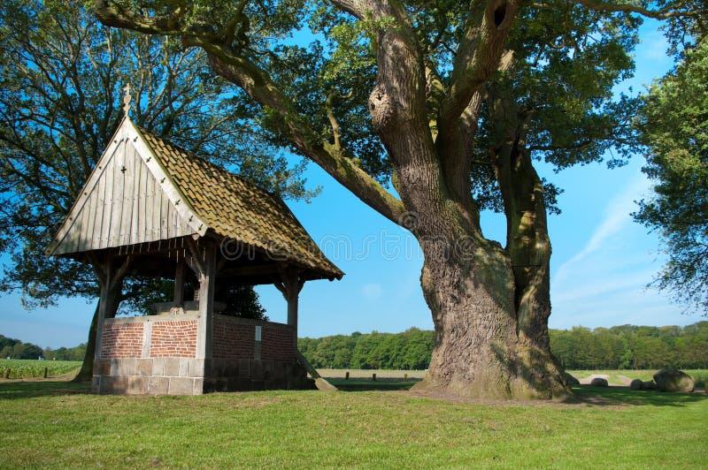 Little chapel royalty free stock photo