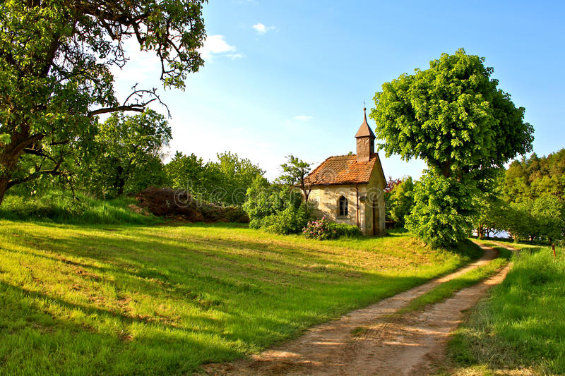 Download Little Chapel In Rural Bavaria, Germany Royalty Free Stock Photo - Image: 14725985