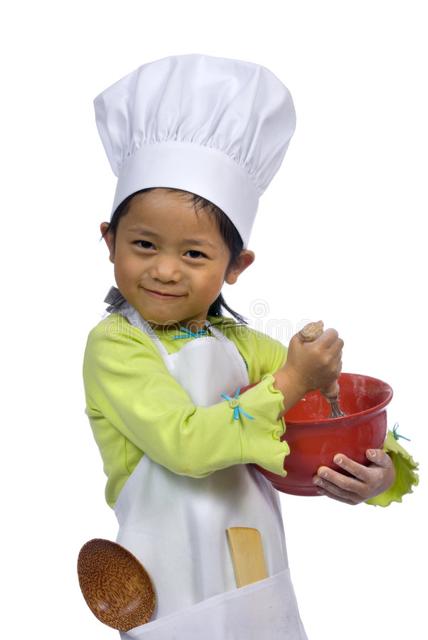 Little Chefs 004 Royalty Free Stock Images