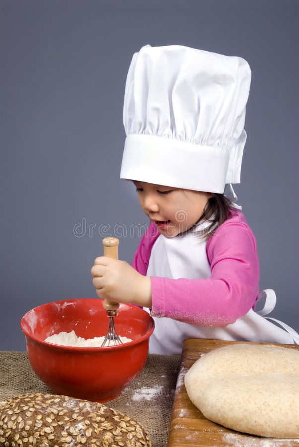 Download Little Chefs 014 stock image. Image of cookies, bread - 2207579