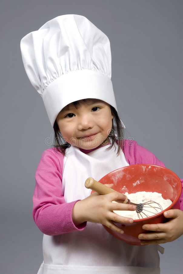 Download Little Chefs 017 stock photo. Image of help, cook, asian - 2218650