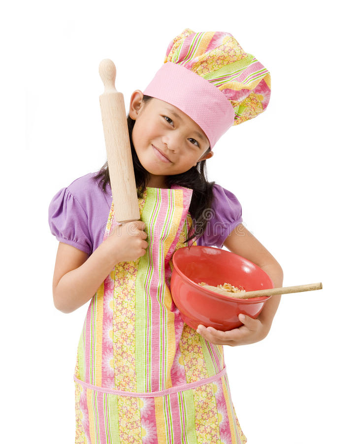 Little Chefs stock image