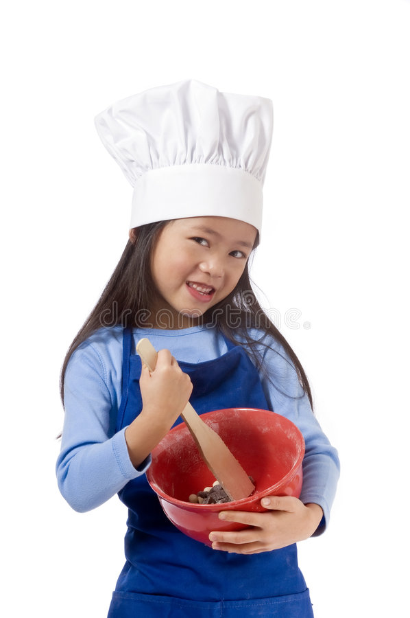 Download Little Chefs stock photo. Image of innocence, help, chef - 4260632
