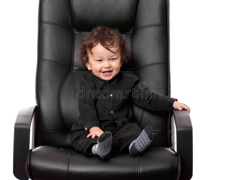 Little chief. stock photo