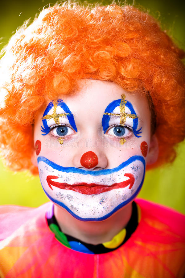 Download Little clown stock image. Image of entertainment, circus - 13114083