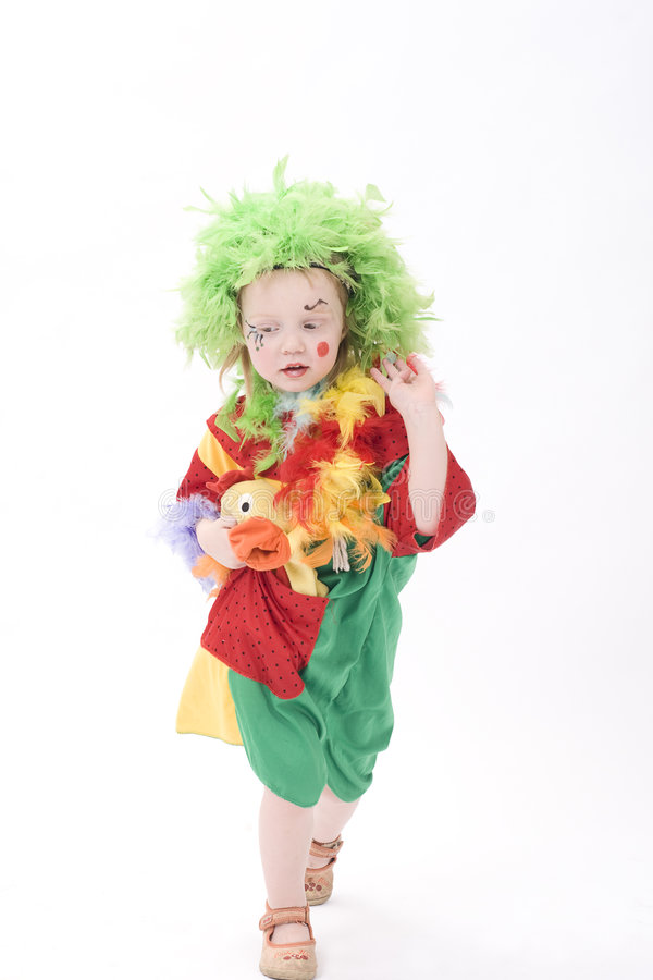 Download Little Clown III Stock Images - Image: 4286274