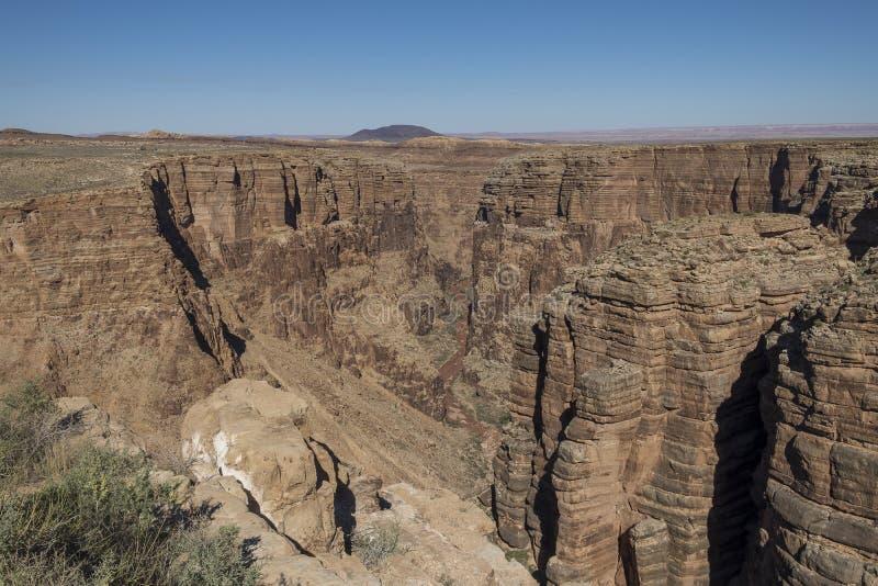 Little Colorado River, o Arizona foto de stock royalty free