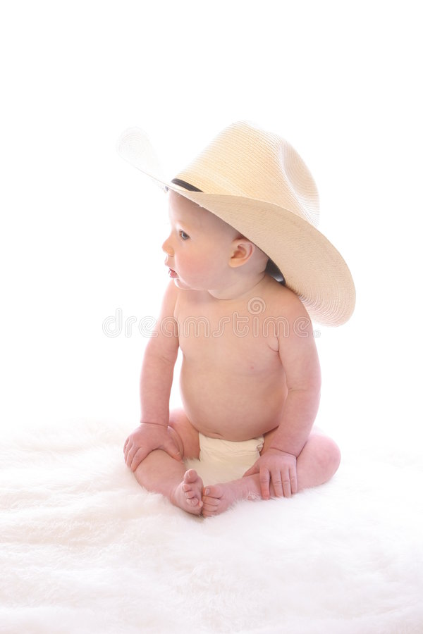 Little Cowboy 1 royalty free stock photography
