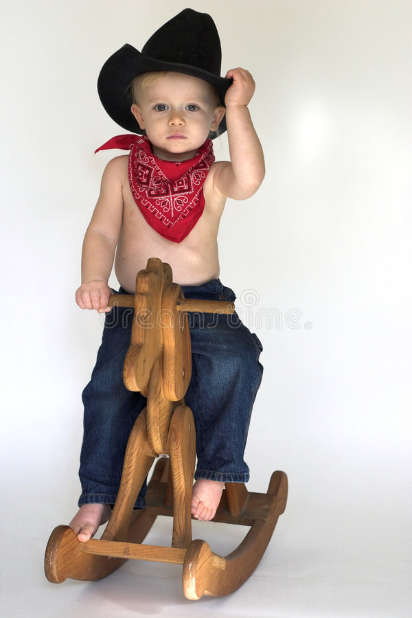 Free Little Cowboy Royalty Free Stock Photos - 3757498