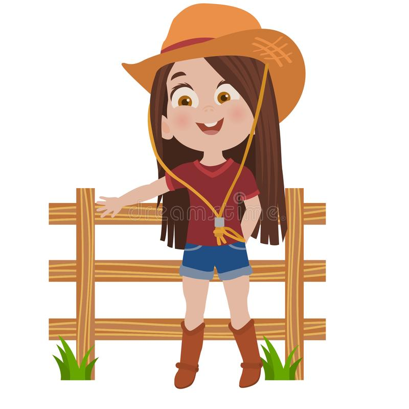 Free Little Cowgirl Girl Royalty Free Stock Photos - 124809038