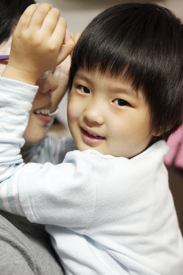 Download Little Cute Asian Girl Smile Stock Image - Image: 11180403