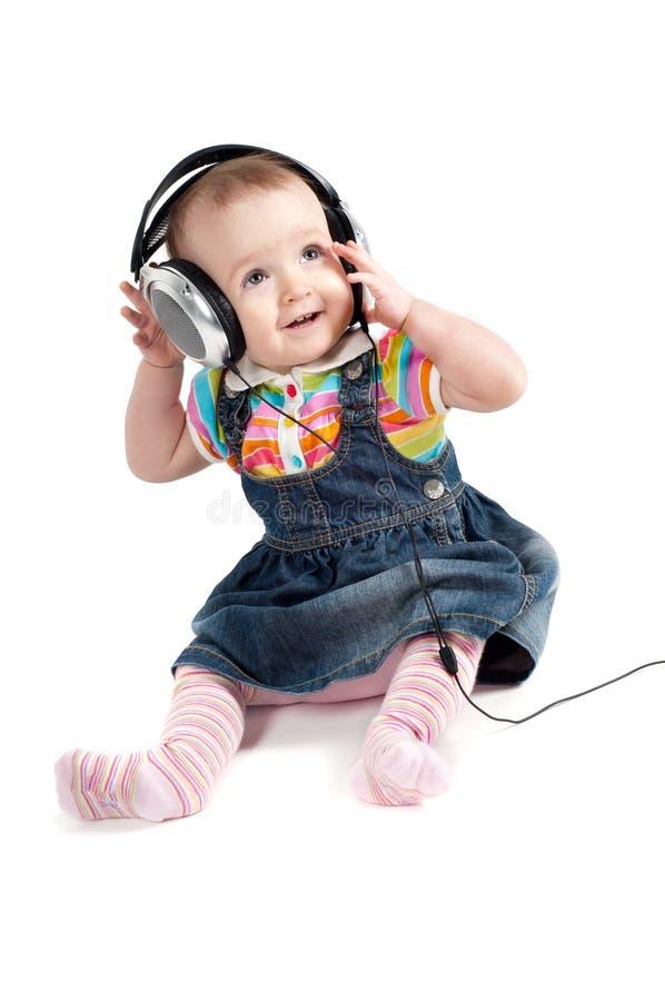 Little Cute Baby Girl Stock Photos