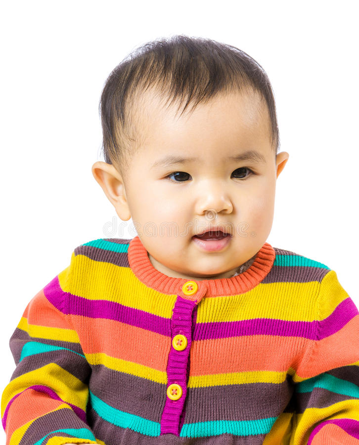 Little cute baby royalty free stock image