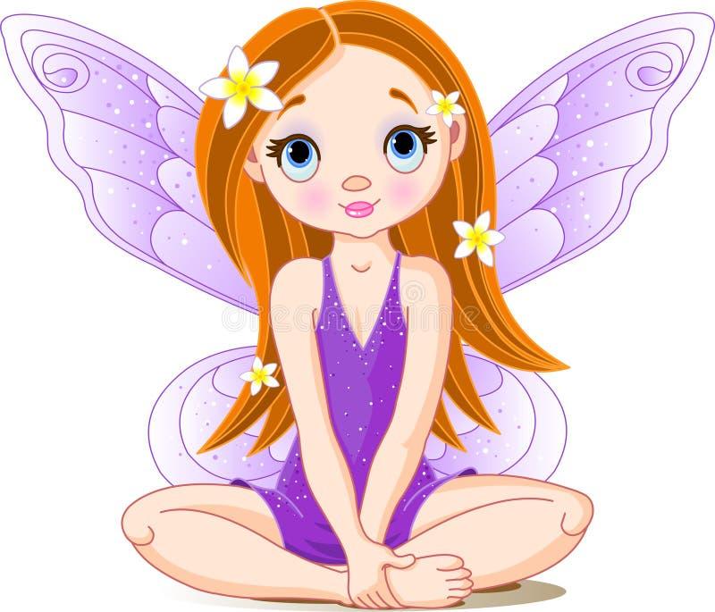 Little cute fairy stock illustration