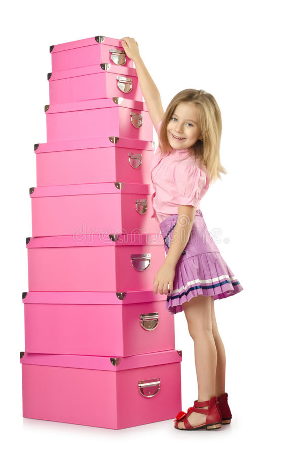 Download Little cute girl stock photo. Image of people, party - 27864018