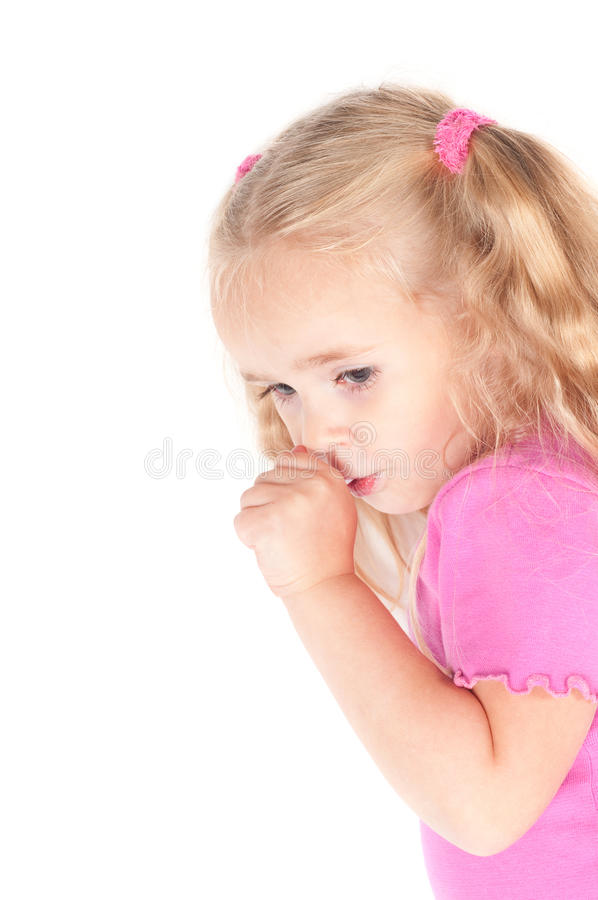 Download Little Cute Girl In Studio Eating Candy Stock Photo - Image: 16199810