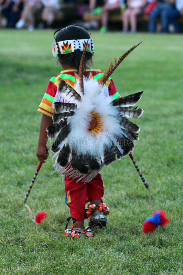 The Little Dancer - Powwow 2013 royalty free stock images