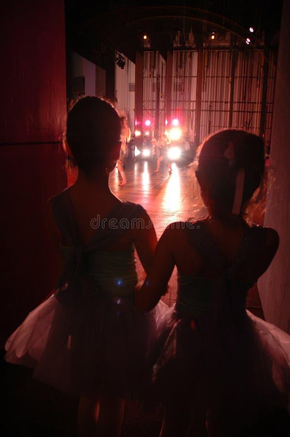 Little Dancers stock images