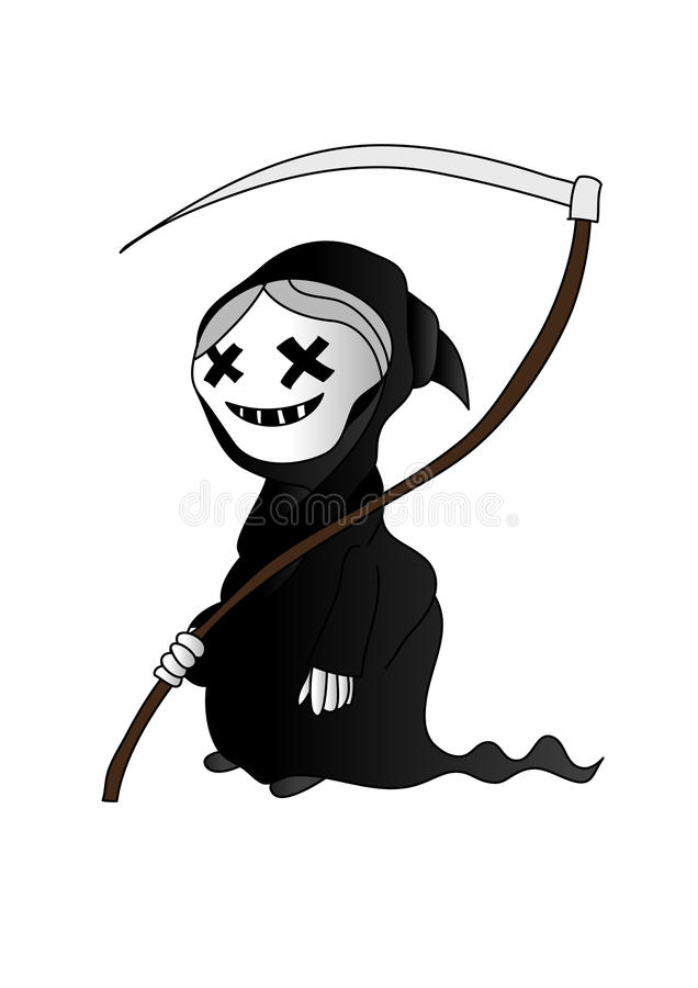 Download Little death stock vector. Illustration of halloween - 21642365
