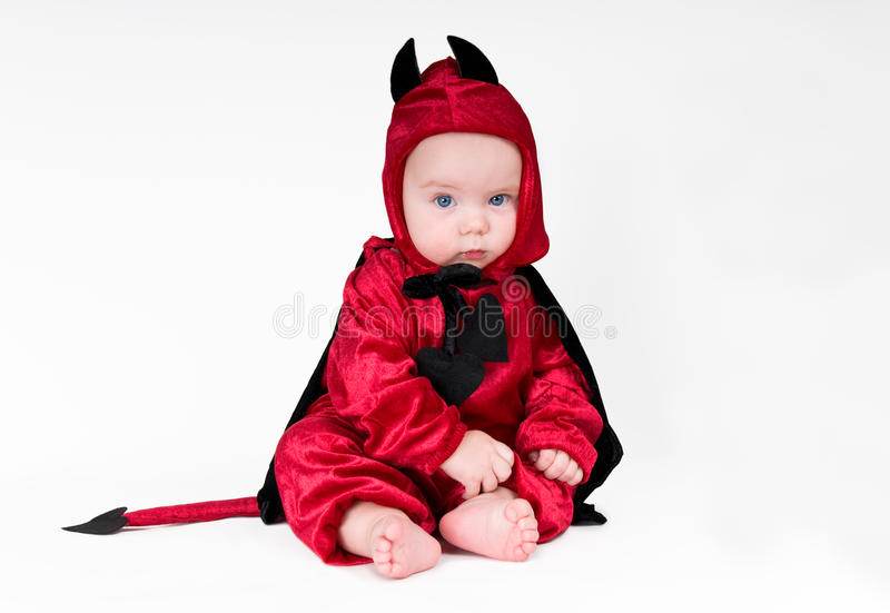 Little devil stock photo