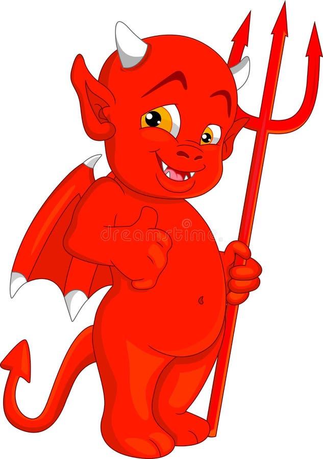 Little devil stock vector image 45511510 - Les petit diable noel ...