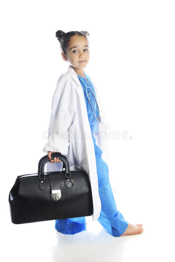 Little Doc On The Move Stock Images