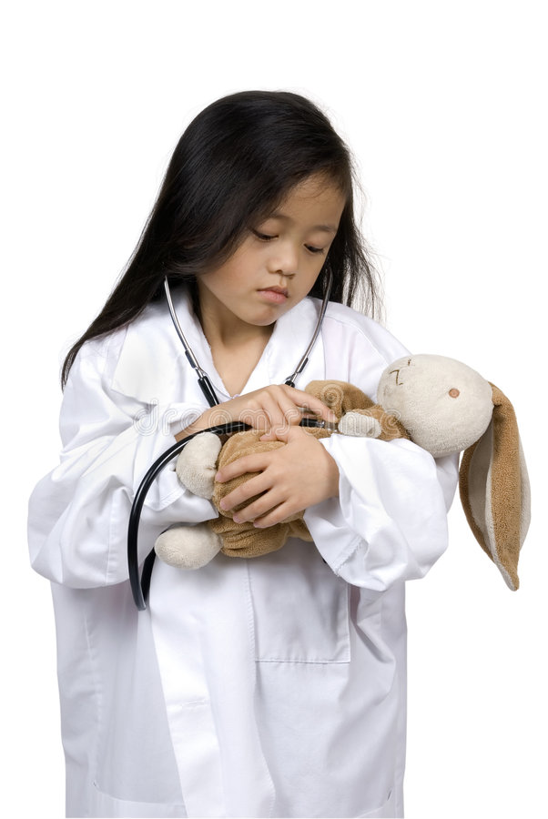 Little Doctors 001 royalty free stock photography