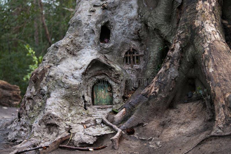 The little fairy house stock photos