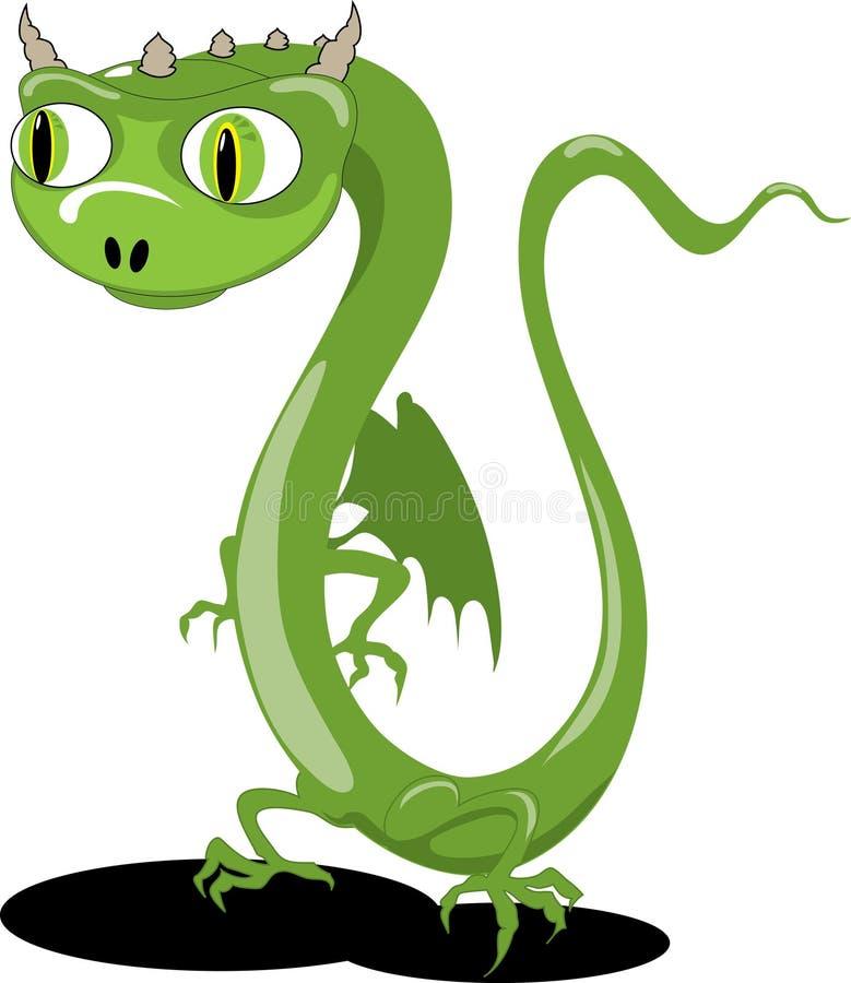 Little dragon royalty free illustration
