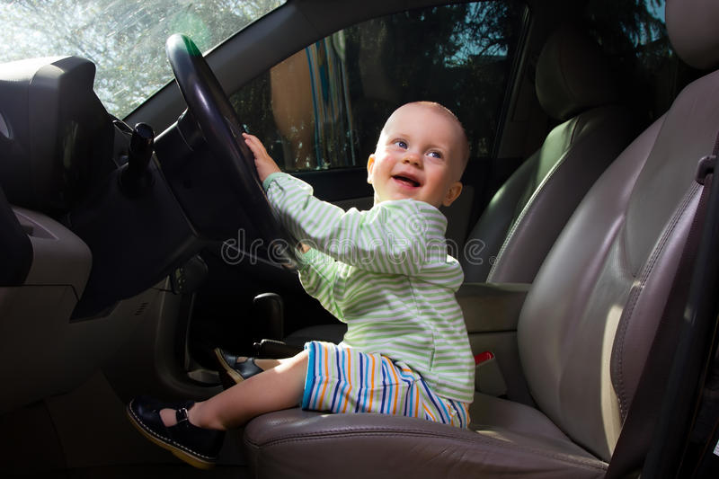 Download Little driver stock photo. Image of human, baby, driving - 30984698