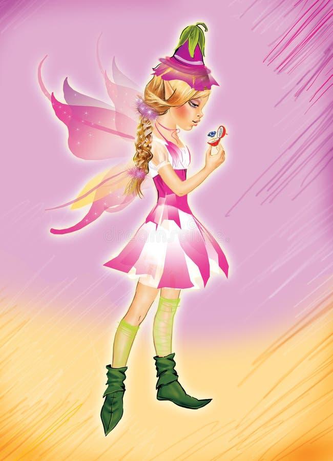 Little elf girl