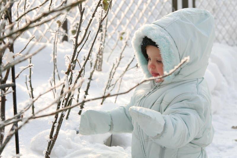 Little Eskimo royalty free stock photography