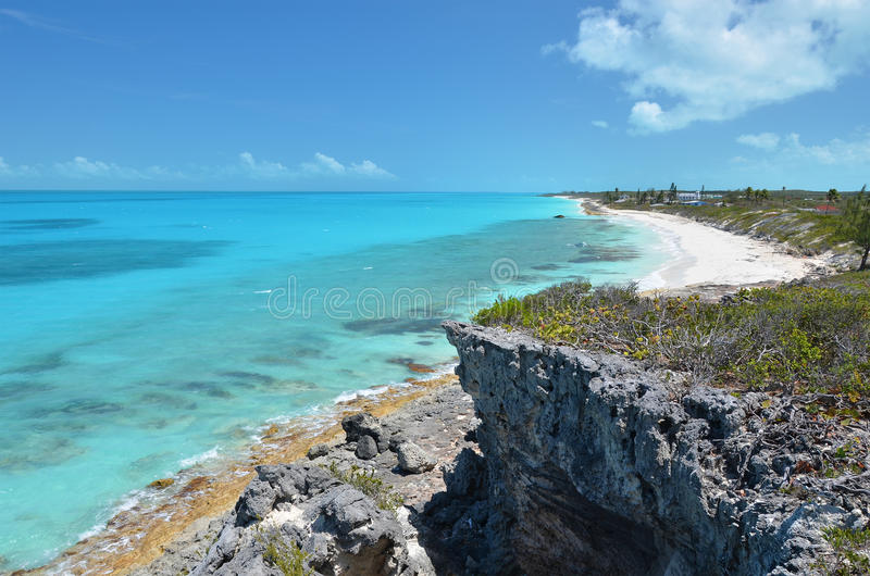 Little Exuma, Bahamas royalty free stock photos