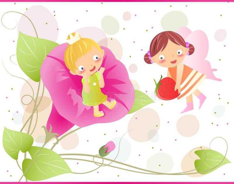 Little Fairies Stock Photography