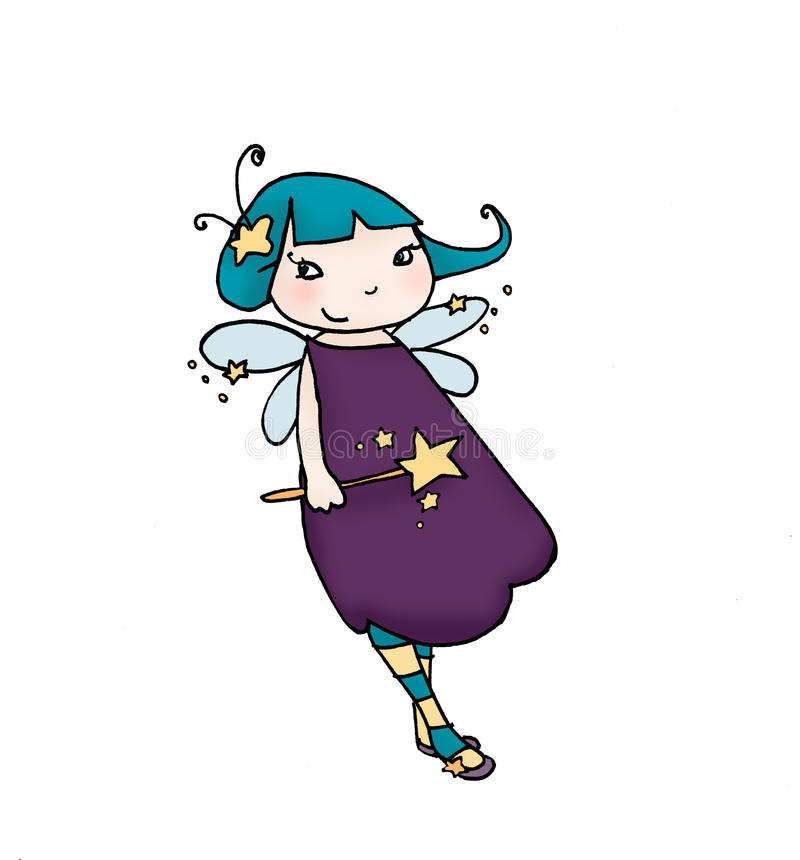 Little fairy stock images