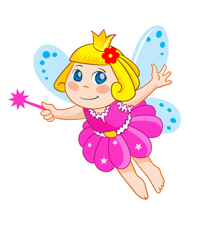 Little fairy vector illustration