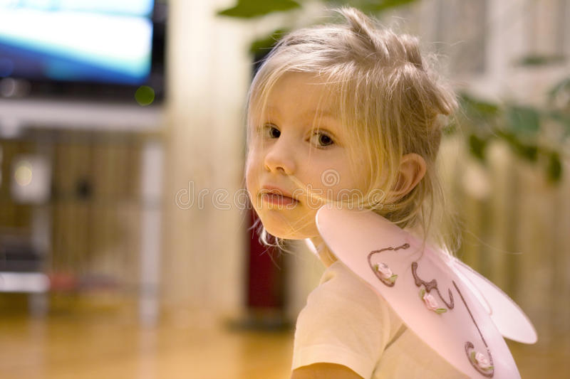 Download Little Fairy stock photo. Image of fairy, people, girl - 14653008